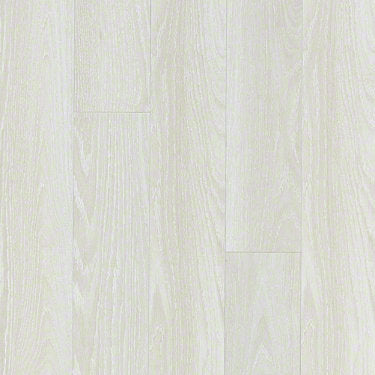 Product sample of Shaw Floors Dawson Ridge Style laminate flooring in the color Iced Oak available at Standard Paint and Flooring.