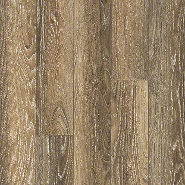 Product sample of Shaw Floors Dawson Ridge Style laminate flooring in the color Tourist Oak available at Standard Paint and Flooring.
