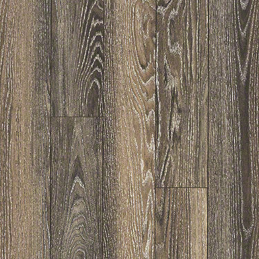Product sample of Shaw Floors Dawson Ridge Style laminate flooring in the color Manhattan Oak available at Standard Paint and Flooring.