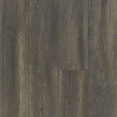 Product sample of Shaw Floors Ellenburg Style laminate flooring in the color Ancient Trail available at Standard Paint and Flooring.