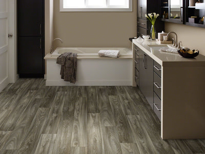 Room Image of Shaw Floors Chisholm Resilient Residential Roll flooring in the color Iowa available at Standard Paint and Flooring.
