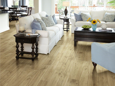 Room Image of Shaw Floors Adirondack 12C Resilient Residential Roll flooring in the color Surrey available at Standard Paint and Flooring.