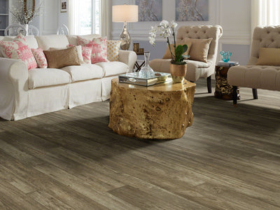 Room Image of Shaw Floors Adirondack 12C Resilient Residential Roll flooring in the color Gresham available at Standard Paint and Flooring.