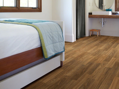 Room Image of Shaw Floors Adirondack 12C Resilient Residential Roll flooring in the color Shasta available at Standard Paint and Flooring.
