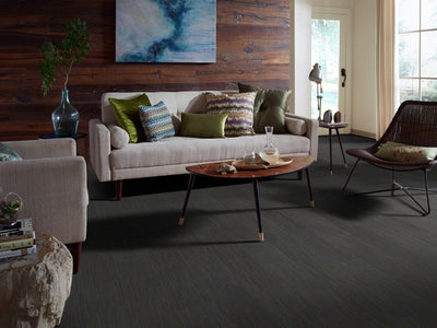 Room Image of Shaw Floors Century Plank Sfa Unit flooring in the color Ironsmith                      available at Standard Paint and Flooring.