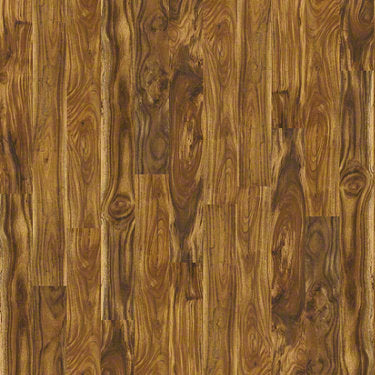 Product sample of Shaw Floors Avenues Style laminate flooring in the color Natural Acacia available at Standard Paint and Flooring.