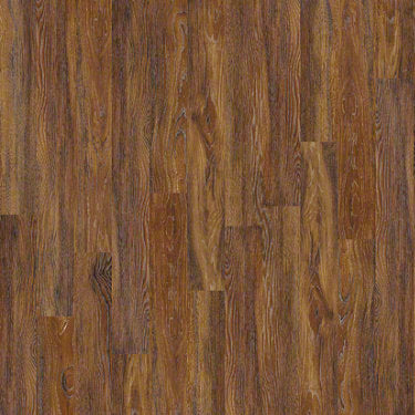 Product sample of Shaw Floors Avenues Style laminate flooring in the color Warm Hickory available at Standard Paint and Flooring.