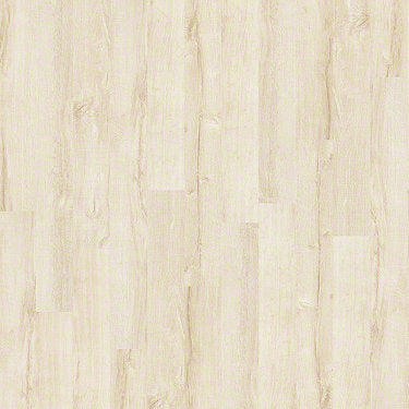 Product sample of Shaw Floors Boulevard Style laminate flooring in the color Crisp Linen available at Standard Paint and Flooring.
