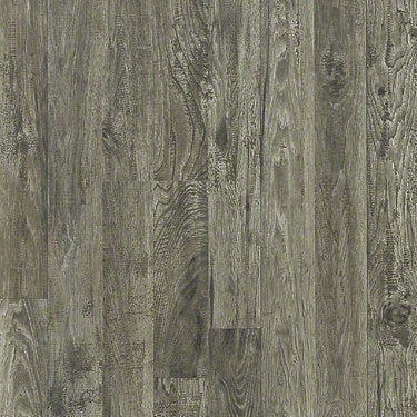 Product sample of Shaw Floors Classic Vintage Style laminate flooring in the color Quaint Hickory available at Standard Paint and Flooring.