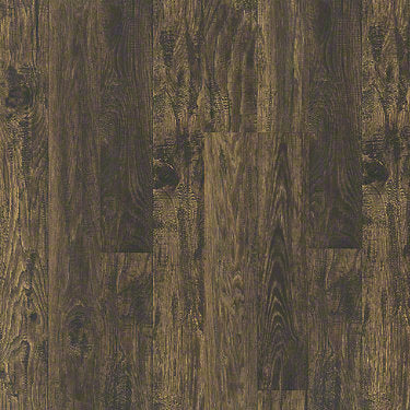 Product sample of Shaw Floors Classic Vintage Style laminate flooring in the color Fashioned Hckry available at Standard Paint and Flooring.