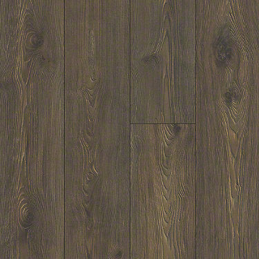 Product sample of Shaw Floors Anthem Plus Style laminate flooring in the color Empire St Mind available at Standard Paint and Flooring.
