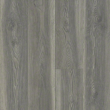 Product sample of Shaw Floors Anthem Plus Style laminate flooring in the color California Drmn available at Standard Paint and Flooring.