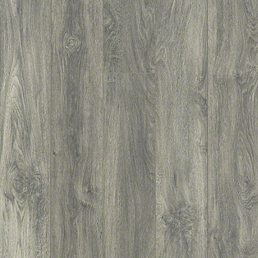 Product sample of Shaw Floors Command Style laminate flooring in the color Burleigh Taupe available at Standard Paint and Flooring.