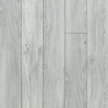 Product sample of Shaw Floors Command Style laminate flooring in the color Skyline Grey available at Standard Paint and Flooring.