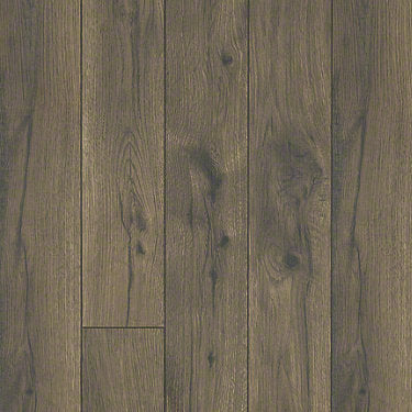 Product sample of Shaw Floors Command Style laminate flooring in the color Cabana Brown available at Standard Paint and Flooring.