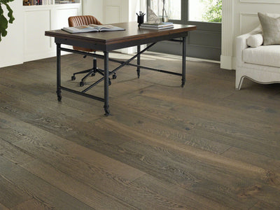 Room Image of Shaw Floors northington-brushed-hardwood  flooring in the color  available at Standard Paint and Flooring.