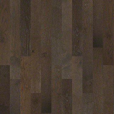 Product Sample of Shaw Floors Continental Hardwood  flooring in the color Rockefeller available at Standard Paint and Flooring.