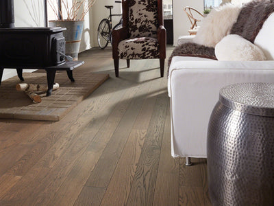Room Image of Shaw Floors northington-brushed-hardwood  flooring in the color 5 available at Standard Paint and Flooring.