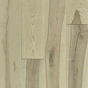 Product Sample of Shaw Floors Sequoia Hickory 5 Hardwood  flooring in the color Native available at Standard Paint and Flooring.