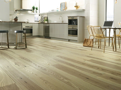 Room Image of Shaw Floors couture-oak-hardwood  flooring in the color 4 available at Standard Paint and Flooring.