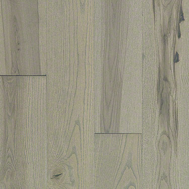 Product Sample of Shaw Floors Sequoia Hickory 5 Hardwood  flooring in the color Transcendent available at Standard Paint and Flooring.