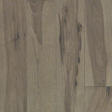 Product Sample of Shaw Floors Sequoia Hickory 5 Hardwood  flooring in the color Instinct available at Standard Paint and Flooring.