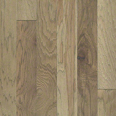 Product Sample of Shaw Floors Sequoia Hickory 5 Hardwood  flooring in the color Burlap available at Standard Paint and Flooring.