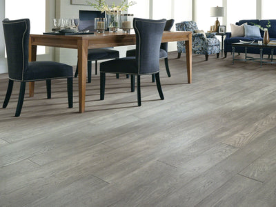 Room Image of Shaw Floors magnificent-sfn-hardwood  flooring in the color 8 available at Standard Paint and Flooring.