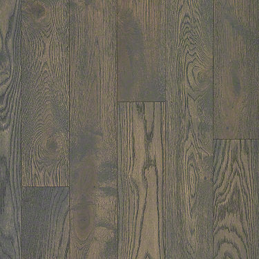 Product Sample of Shaw Floors Compile Hardwood  flooring in the color Granite available at Standard Paint and Flooring.