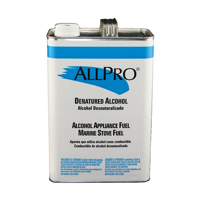 ALLPRO Denatured Alcohol gallon size available at Standard Paint & Flooring.