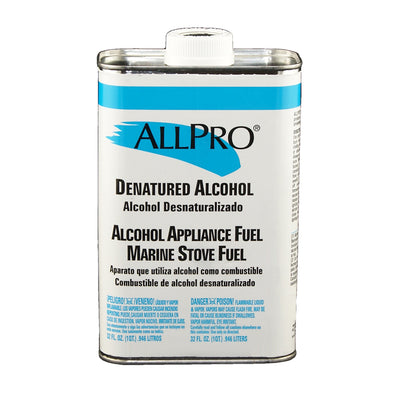 ALLPRO Denatured Alcohol quart size available at Standard Paint & Flooring.
