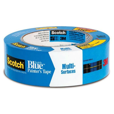 3M ScotchBlue Original Multi-Use Painter's Tape 1-1/2 inch wide by 60 feet long