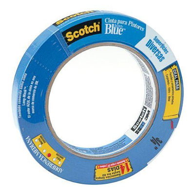 3M ScotchBlue Original Multi-Use Painter's Tape 3/4 inch wide by 60 feet long