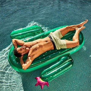 Cactus/Rainbow Swimming Ring Inflatable