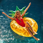 Eggplant/Beach Ball/Giant Yellow Duck With Glasses/Pineapple Swimming Float Inflatable Pool