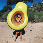 Watermelon /Banana/ Avocado Large Pool Swimming Rings Air Bed