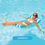 4-in-1 Multi-Purpose Inflatable Portable Pool Hammock