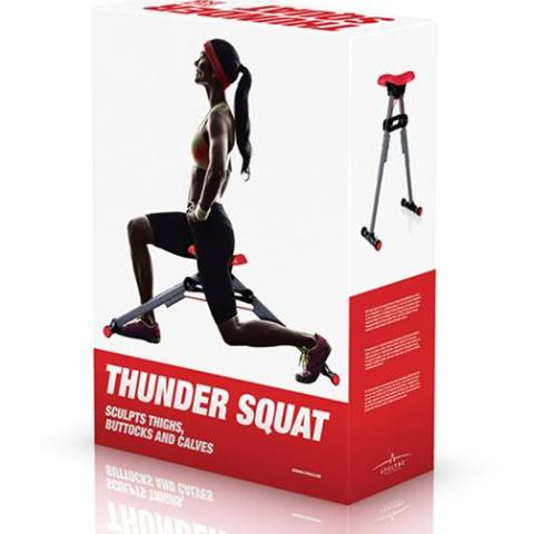 Appareil de Musculation Thunder Squat Fitness Girls - HomeFit