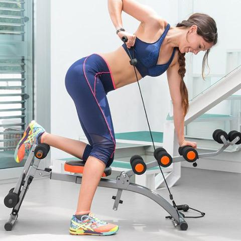Banc de Musculation 6 en 1 Intégral Fitness Girls - HomeFit