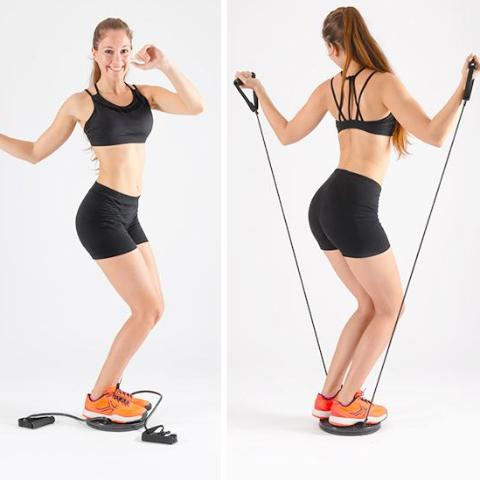 Disque Rotatif de Cardio Fitness Girls - HomeFit
