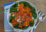 Pumpkin and feta salad low fodmap recipe