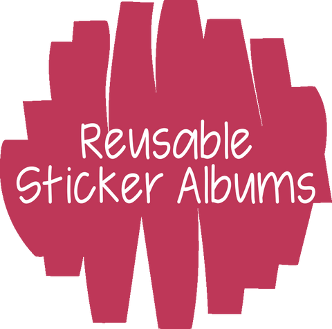 Reusable Sticker Albums