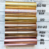 Galaxy Print Foil Date Covers
