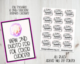 Foiled If only Sarcasm Burned Calories Stickers - Foiled Sassy Stickers