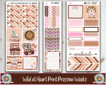 PP Weeks Wild At Heart Planner Stickers