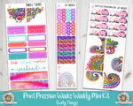 PP Weeks Swirly Things Weekly Planner sticker kit