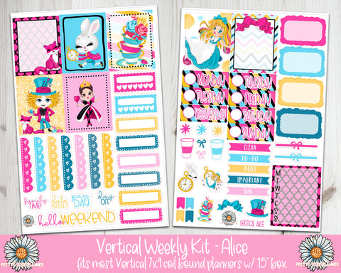 "1.5"" Standard Vertical Alice Weekly Kit"