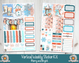 Standard Vertical Merry and Bright weekly kit