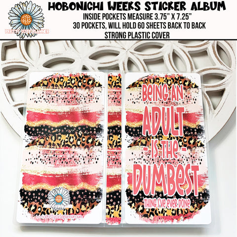 Hobonichi Weeks Sticker Album - Being an Adult