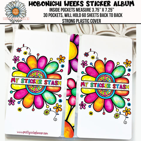 Hobonichi Weeks Sticker Album - My Sticker Stash